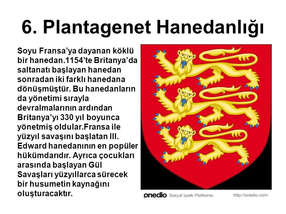 6. Plantagenet Hanedanlığı