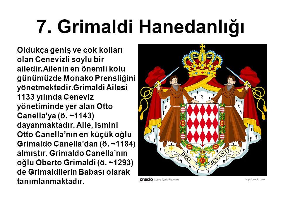 7. Grimaldi Hanedanlığı