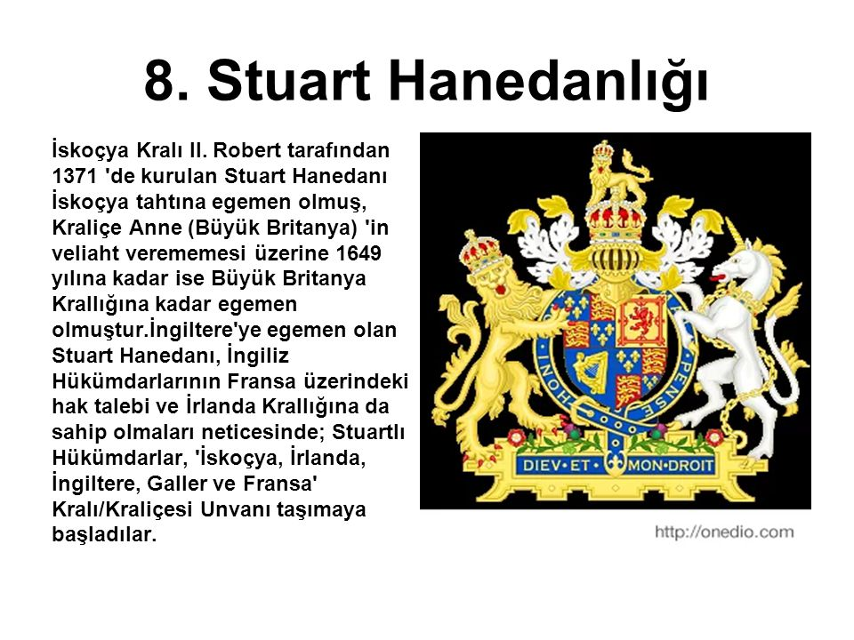 8. Stuart Hanedanlığı