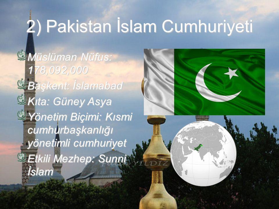 2) Pakistan İslam Cumhuriyeti