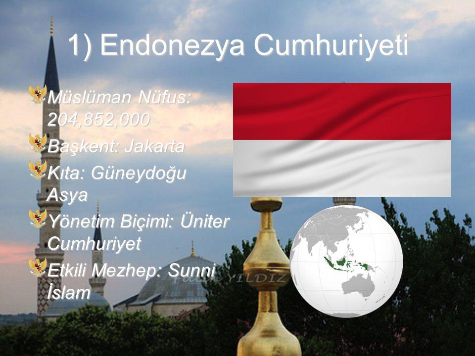 1) Endonezya Cumhuriyeti