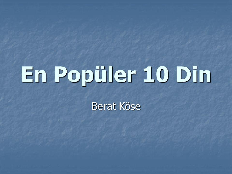 En Popüler 10 Din Berat Köse