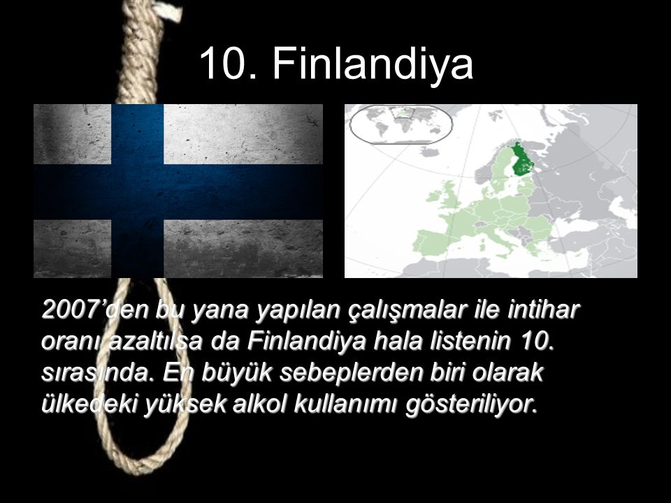 10. Finlandiya