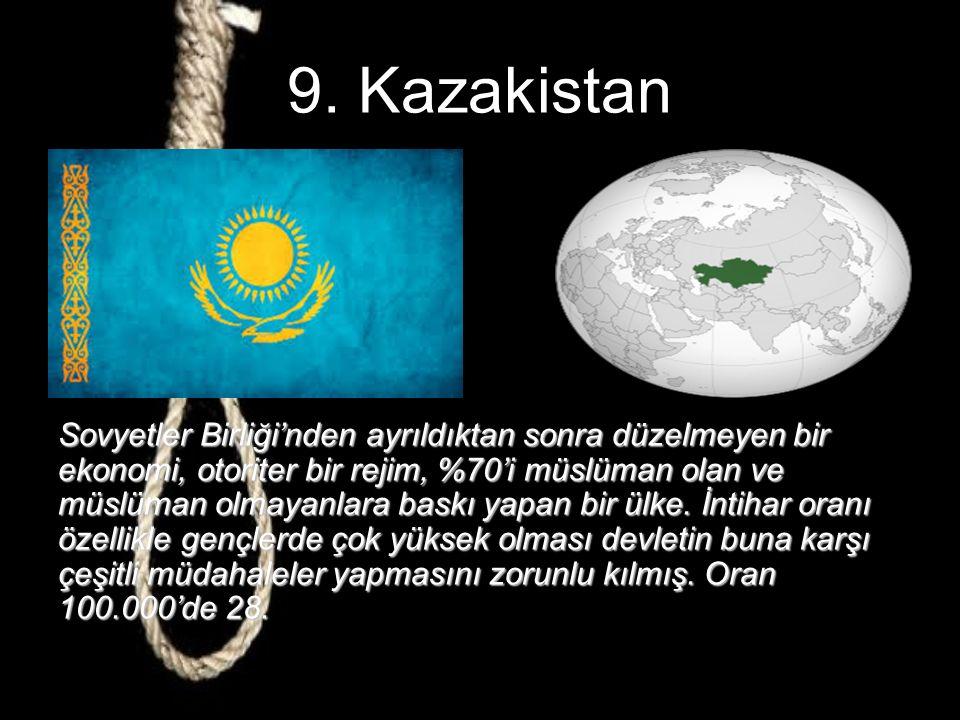 9. Kazakistan