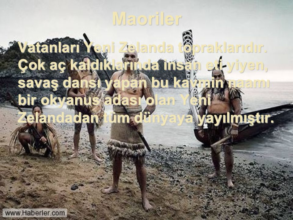 Maoriler