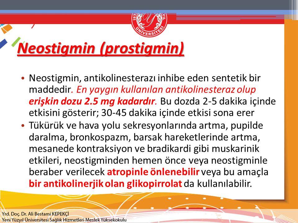 Neostigmin (prostigmin)