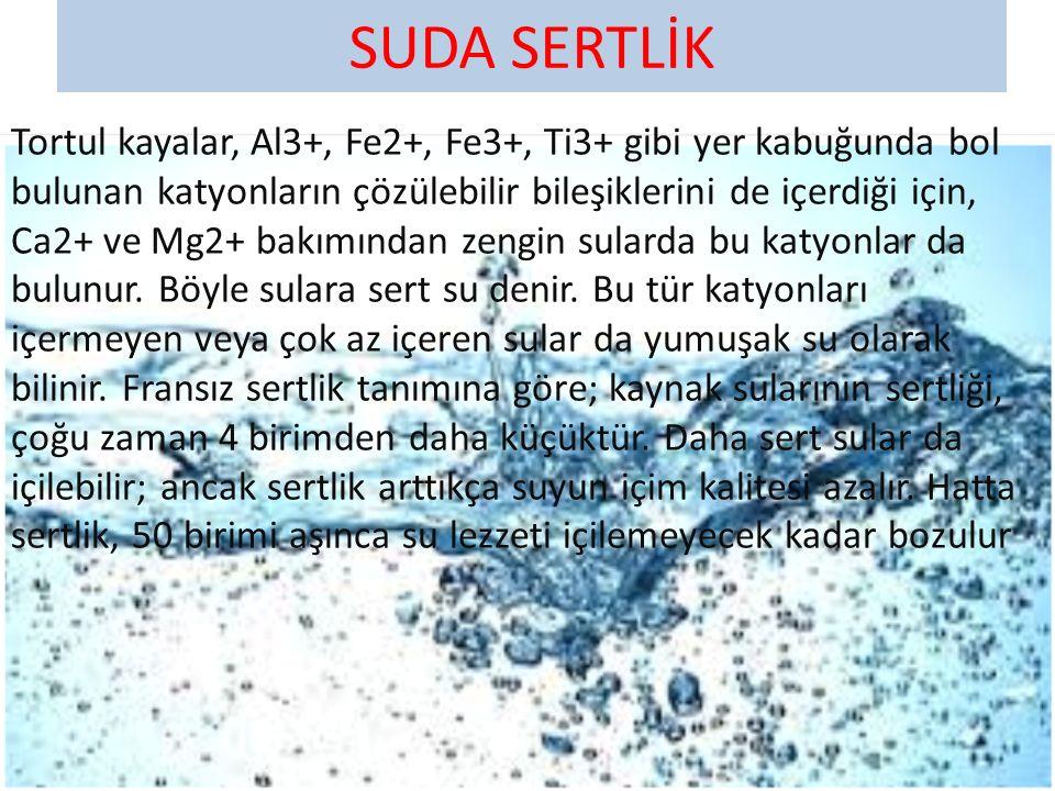 SUDA SERTLİK