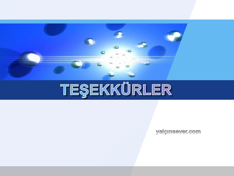 TEŞEKKÜRLER yalçınsever.com