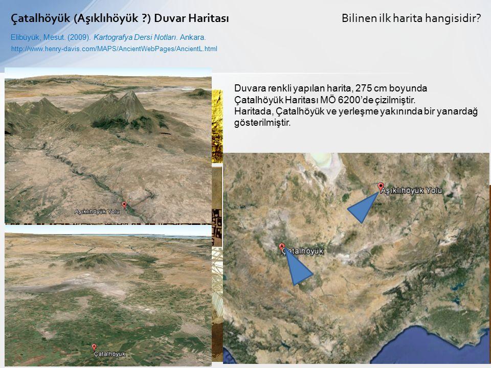 Çatalhöyük (Aşıklıhöyük ) Duvar Haritası