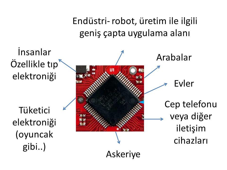 Endüstri- robot, üretim ile ilgili geniş çapta uygulama alanı