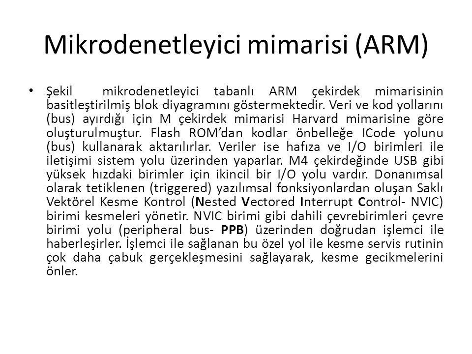Mikrodenetleyici mimarisi (ARM)