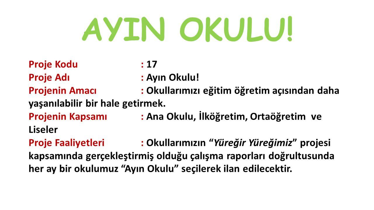 AYIN OKULU!