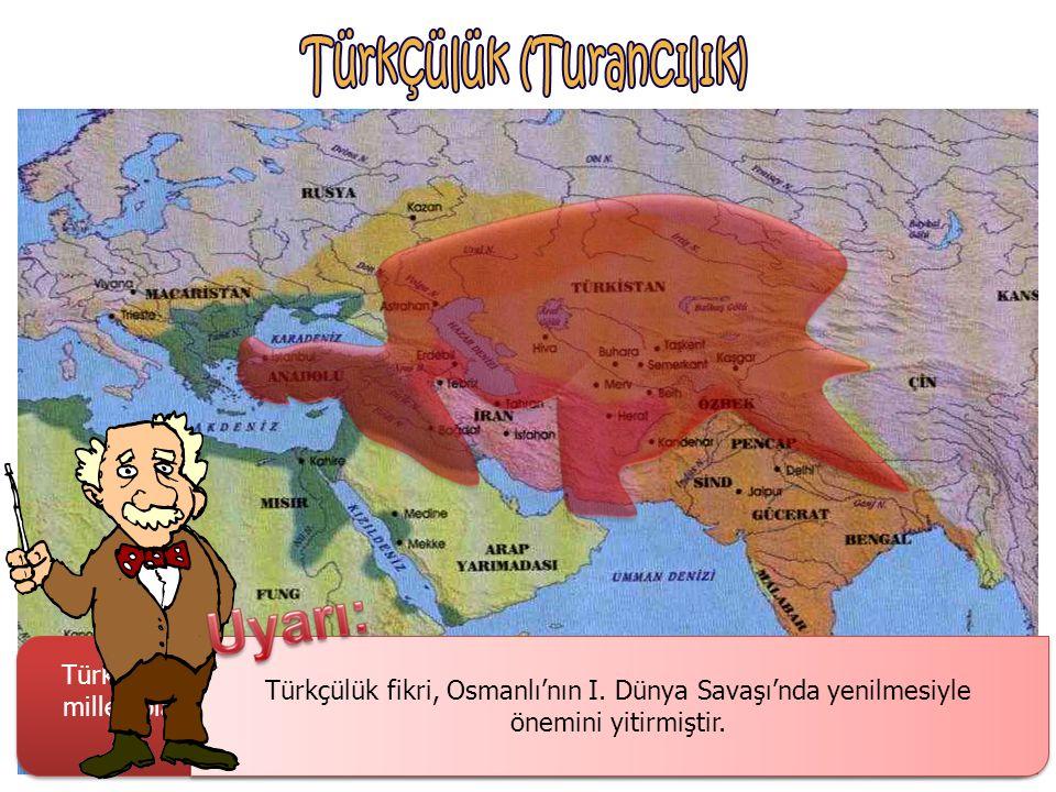Türkçülük fikri, Osmanlı'nın I. Dünya Savaşı'nda yenilmesiyle