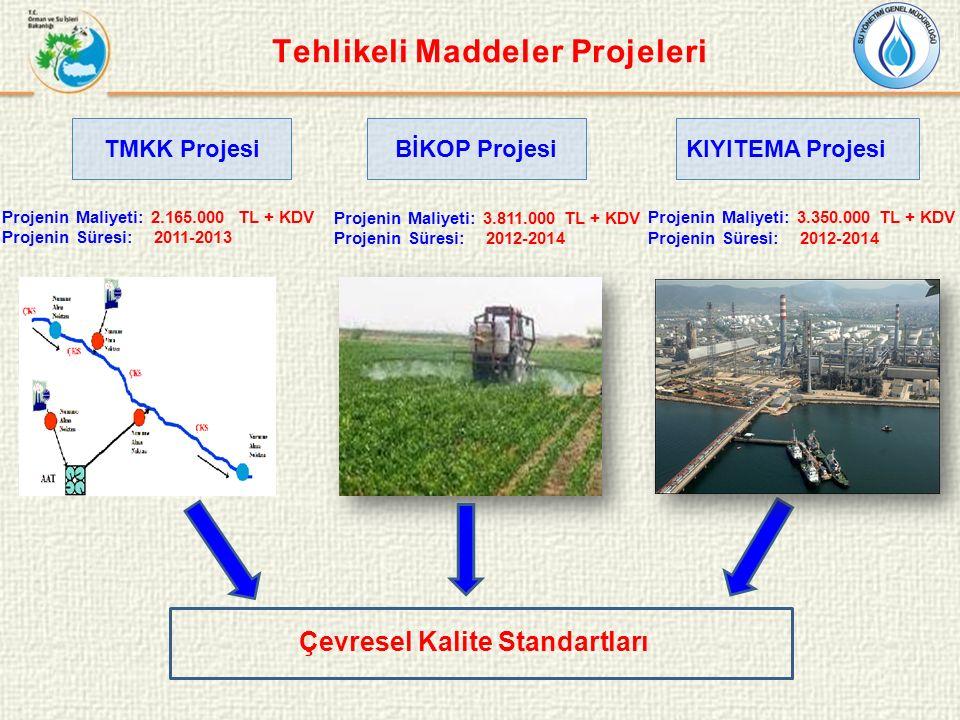 Tehlikeli Maddeler Projeleri Çevresel Kalite Standartları