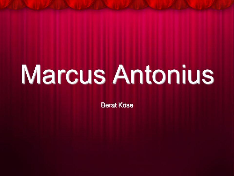 Marcus Antonius Berat Köse