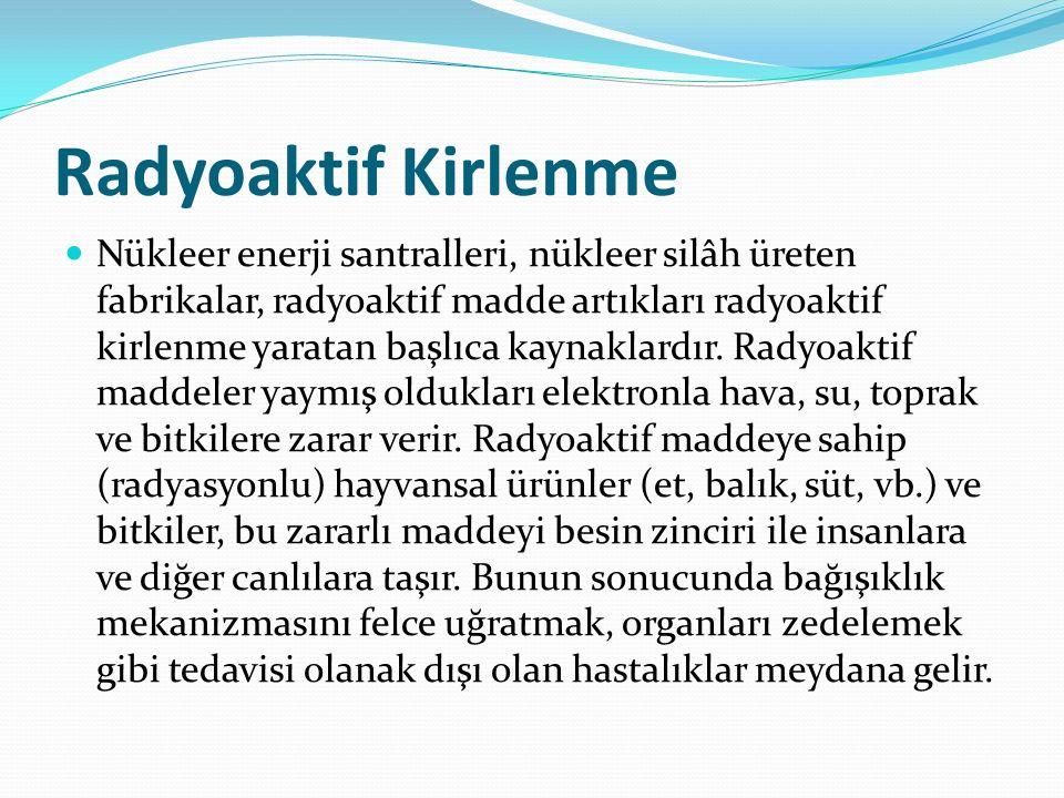 Radyoaktif Kirlenme