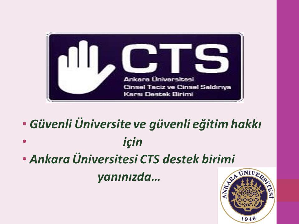 Güvenli Üniversite ve güvenli eğitim hakkı