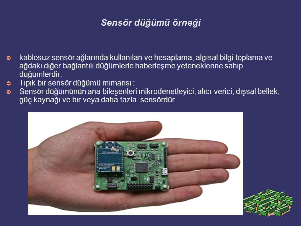 Sensör düğümü örneği