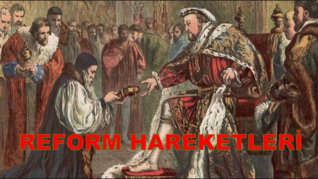REFORM HAREKETLERİ