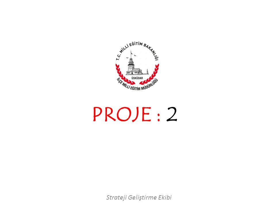 PROJE : 2 Strateji Geliştirme Ekibi