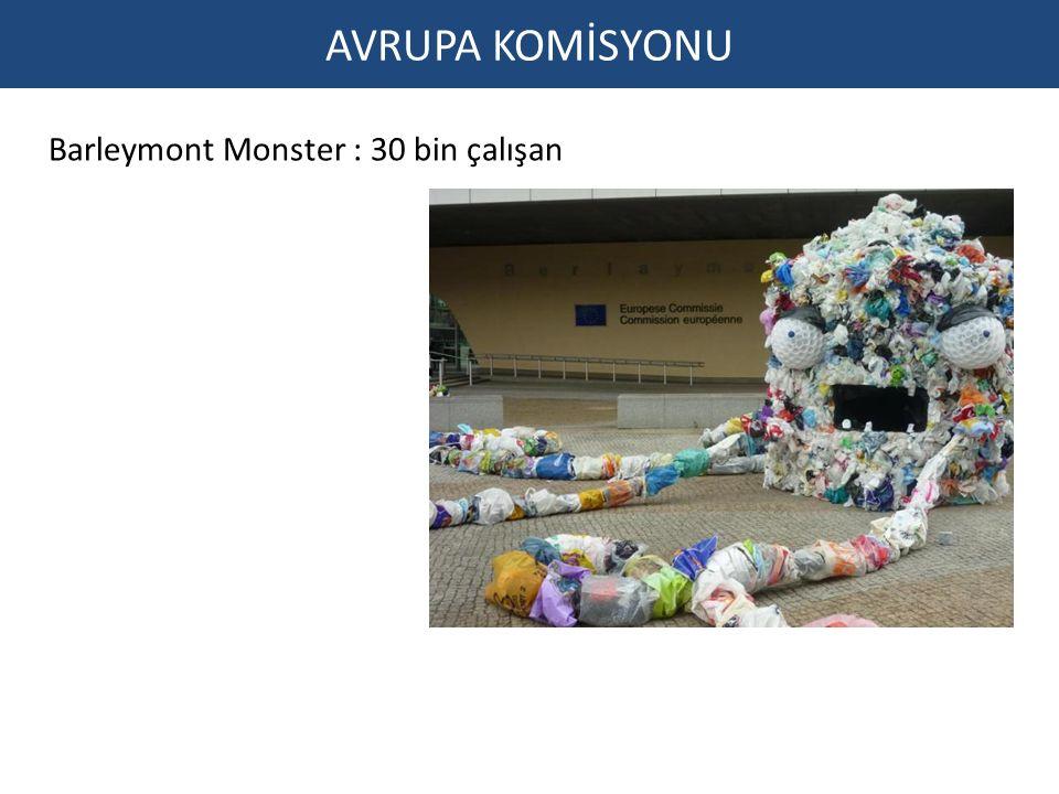 AVRUPA KOMİSYONU Barleymont Monster : 30 bin çalışan