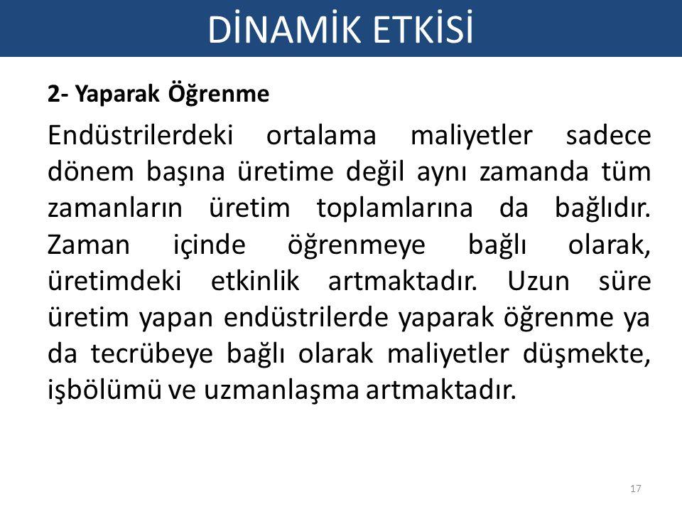 DİNAMİK ETKİSİ 2- Yaparak Öğrenme.
