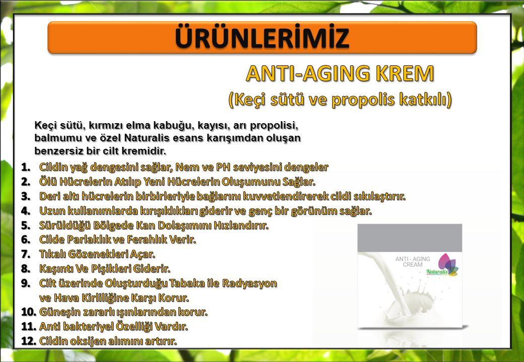 ANTI-AGING KREM (Keçi sütü ve propolis katkılı)