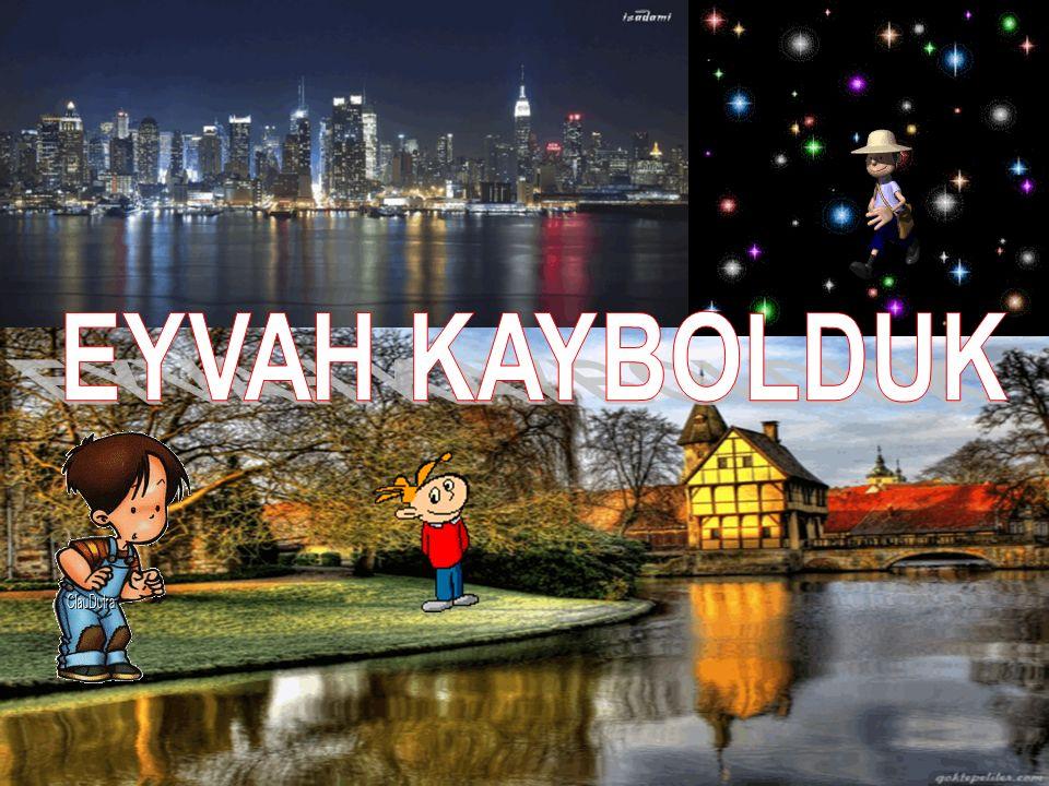 EYVAH KAYBOLDUK