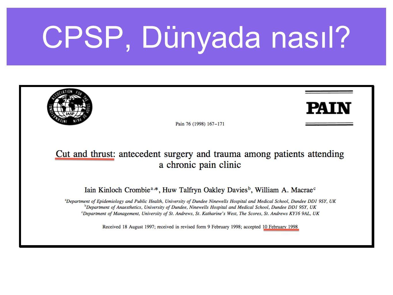 CPSP, Dünyada nasıl
