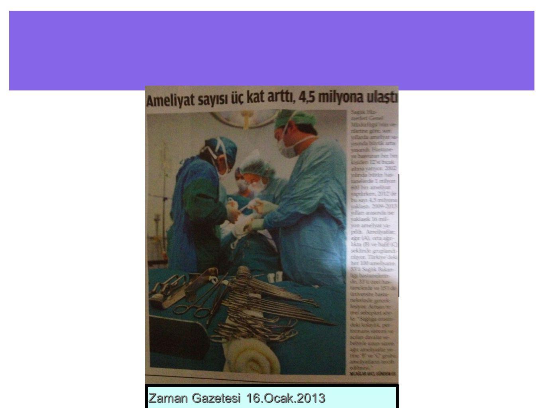 Çooook önemli Sosyal bir problem Zaman Gazetesi 16.Ocak.2013