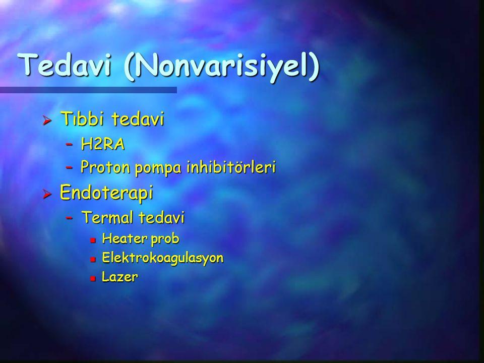 Tedavi (Nonvarisiyel)