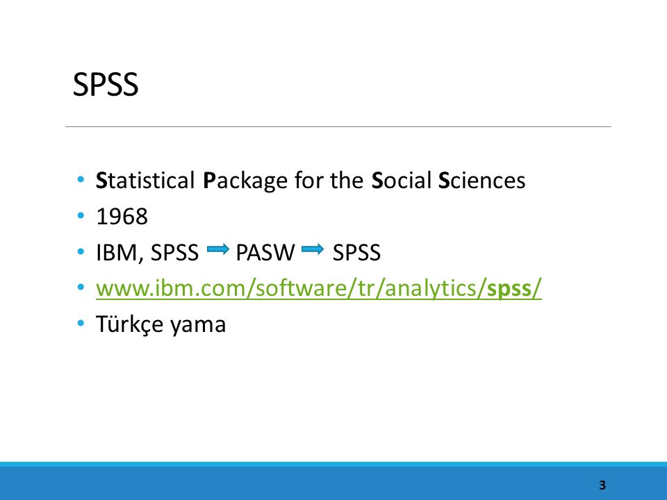 SPSS Statistical Package for the Social Sciences 1968