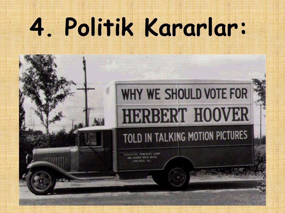 4. Politik Kararlar: