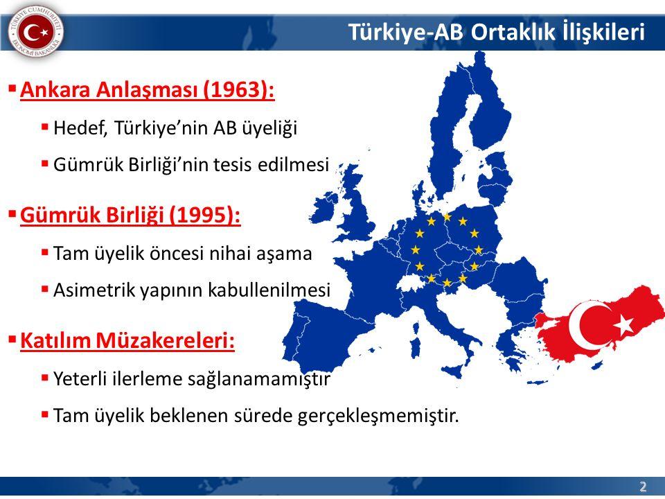 Türkiye-AB Ortaklık İlişkileri