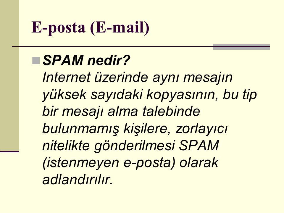 E-posta (E-mail)