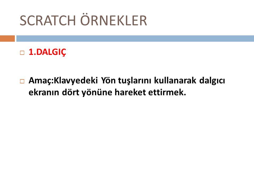 SCRATCH ÖRNEKLER 1.DALGIÇ