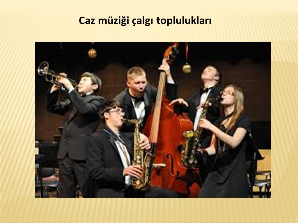 Caz müziği çalgı toplulukları