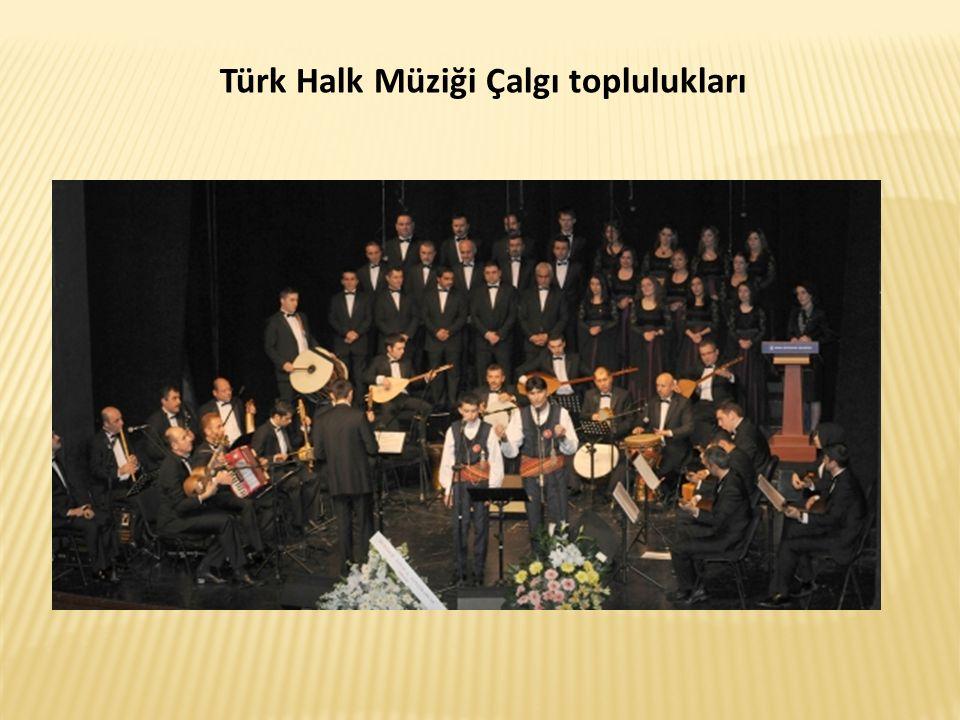 Türk Halk Müziği Çalgı toplulukları