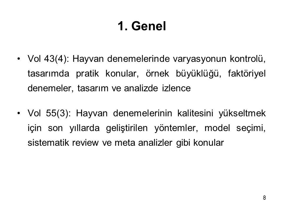 1. Genel