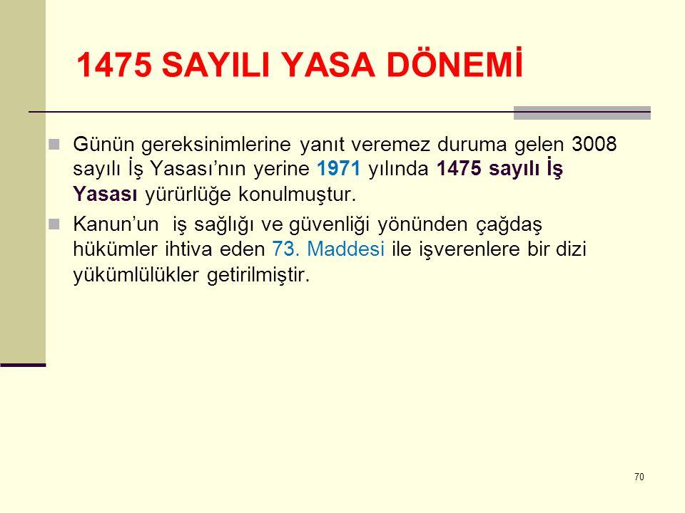 1475 SAYILI YASA DÖNEMİ