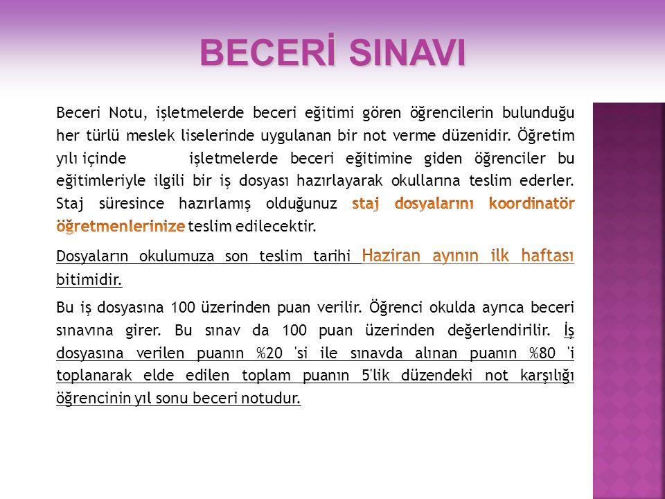 BECERİ SINAVI