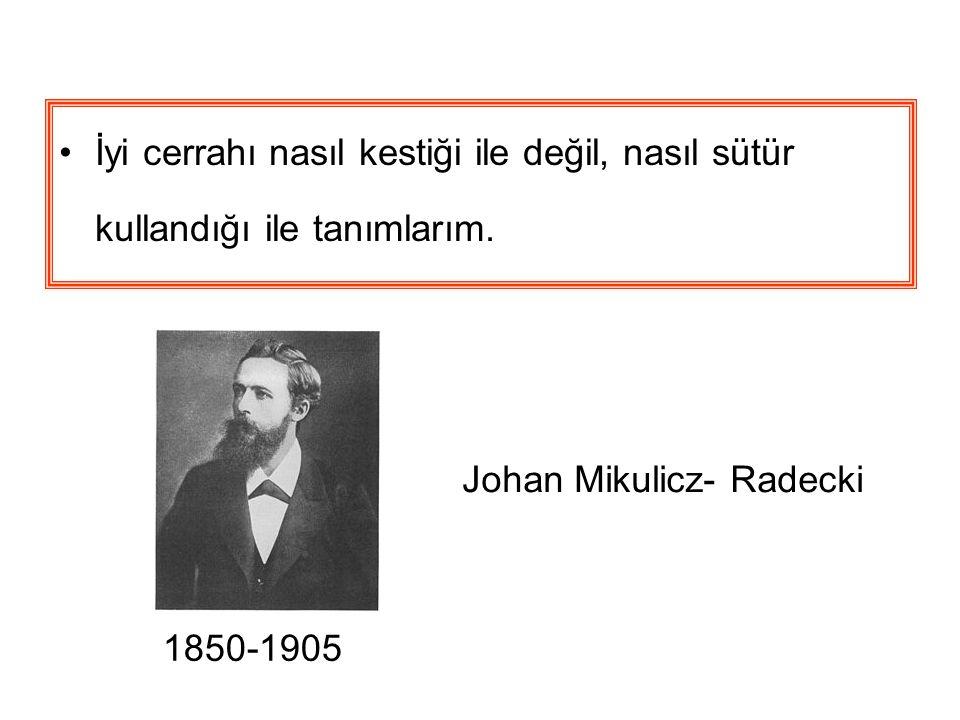 Johan Mikulicz- Radecki