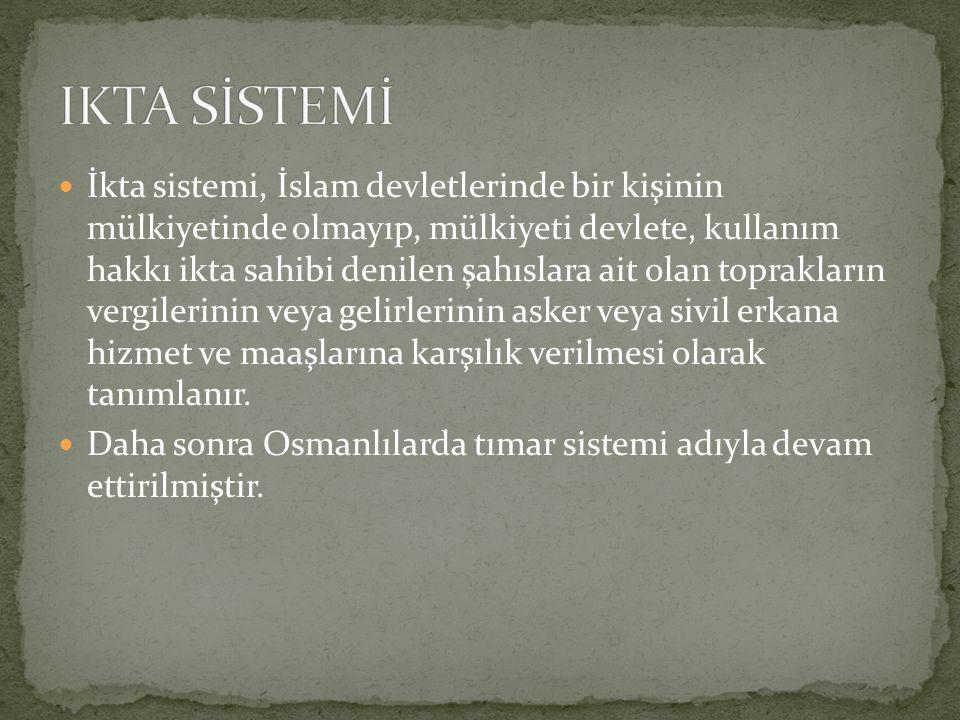 IKTA SİSTEMİ