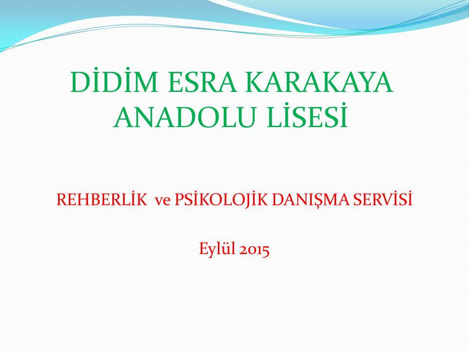 DİDİM ESRA KARAKAYA ANADOLU LİSESİ