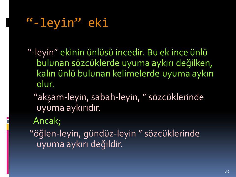 -leyin eki
