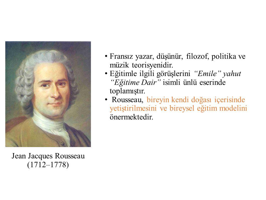 Jean Jacques Rousseau (1712–1778)