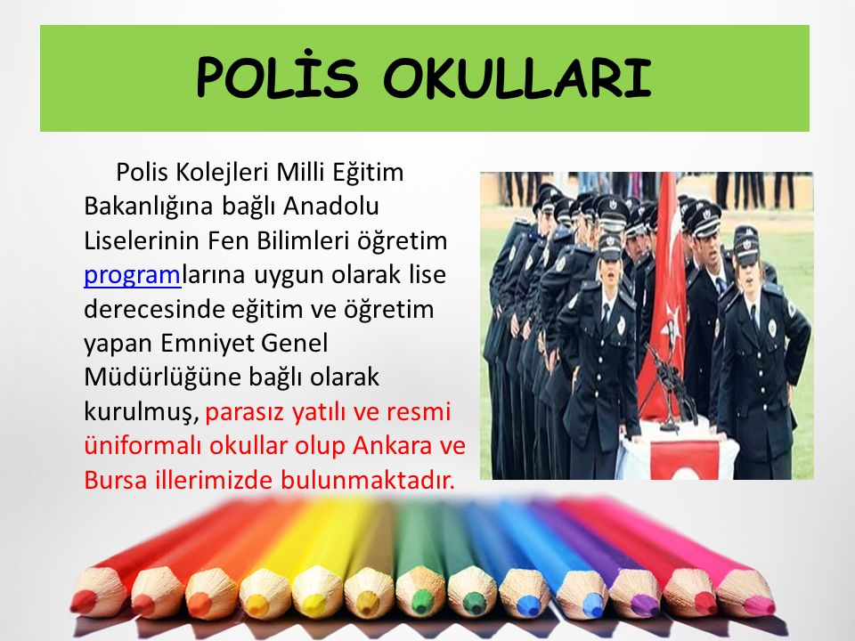 POLİS OKULLARI