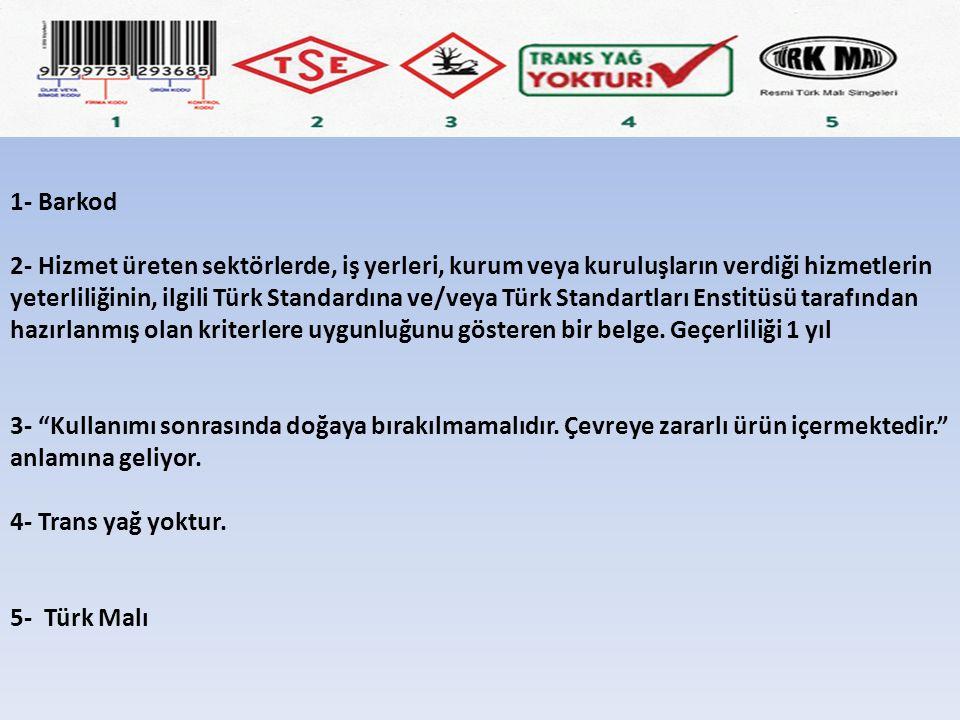 1- Barkod