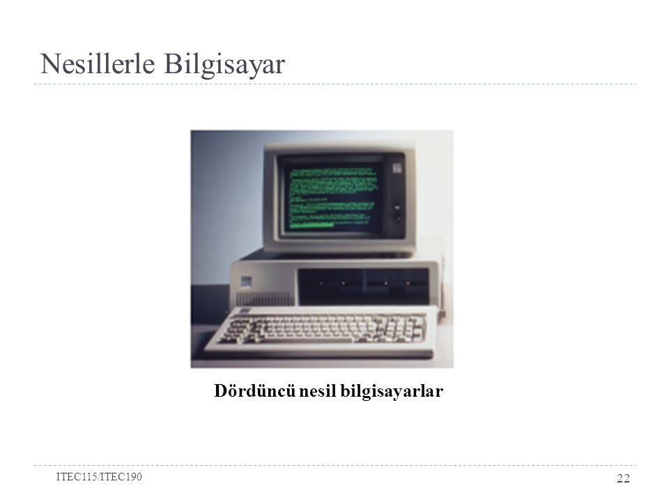 Nesillerle Bilgisayar