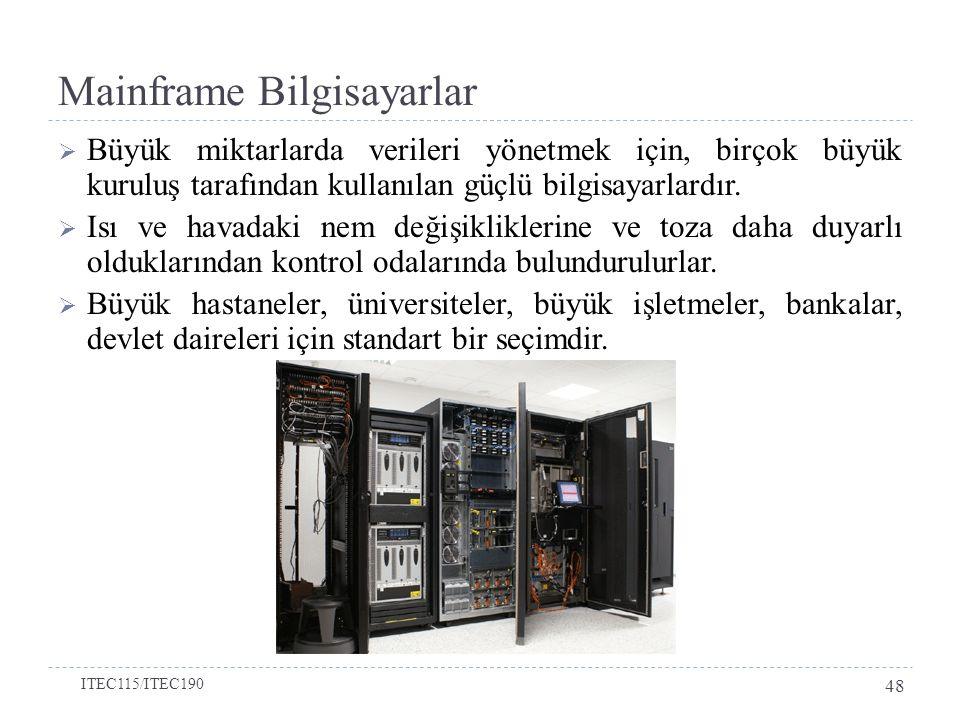 Mainframe Bilgisayarlar